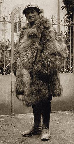 Равель в форме французской армии в 1916 году