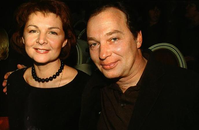 Со второй женой Ликой НифонтовойСо второй женой Ликой Нифонтовой