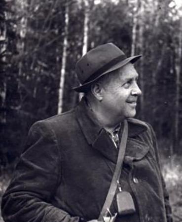 Писатель Георгий Алексеевич Скребицкий