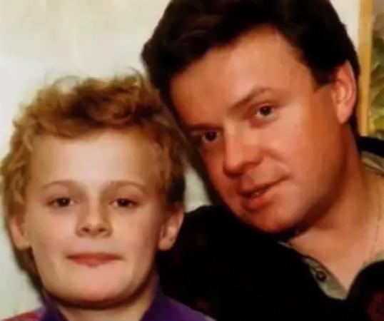 С сыном Кириллом