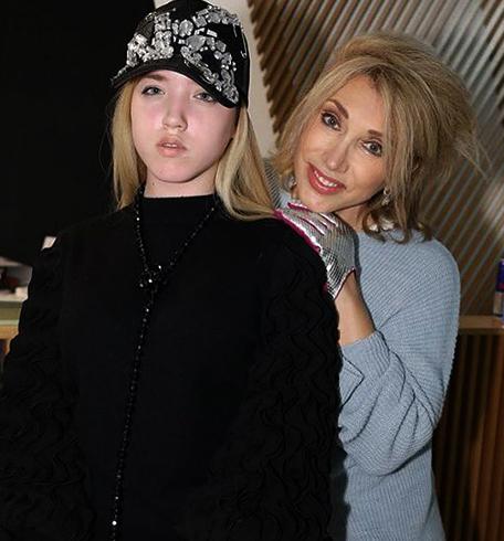 С дочерью Соней