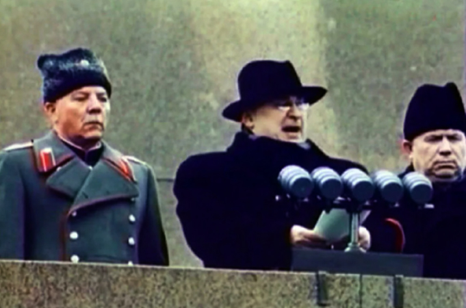 Выступление Лаврентия Берии на похоронах Сталина