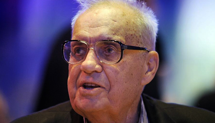 Эльдар Рязанов в старости