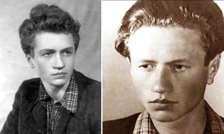 Леонид Быков в годы юности и молодости