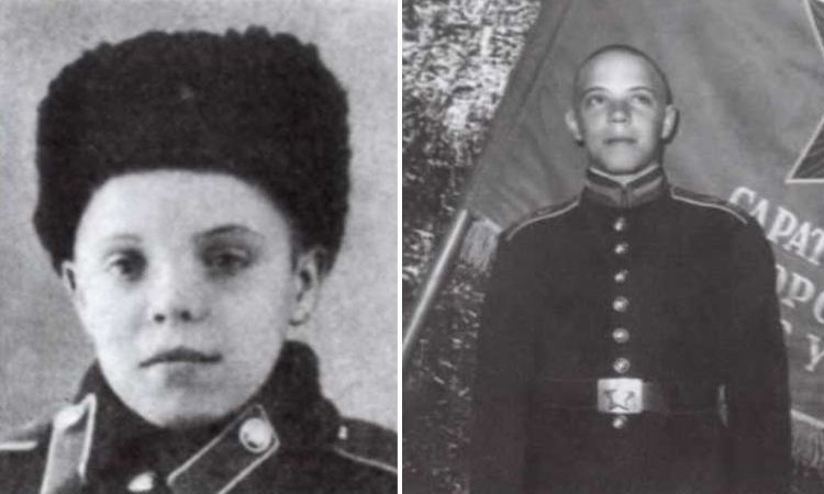 Борис Громов в юности