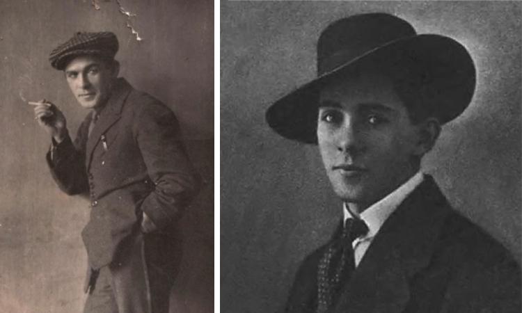 Леонид Утесов в молодости