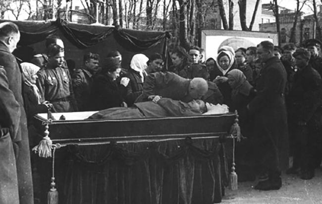 Похороны Н. Ватутина