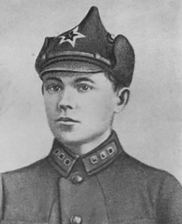 Н. Ватутин в 1926 г.