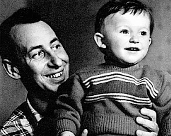 С сыном Владимиром