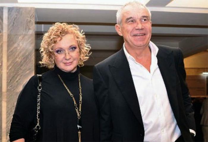 Сергей Гармаш с женой