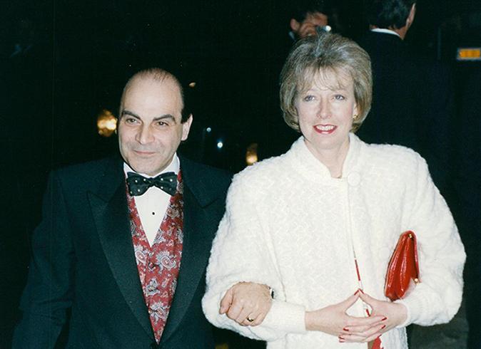 С женой Шейлой Феррис