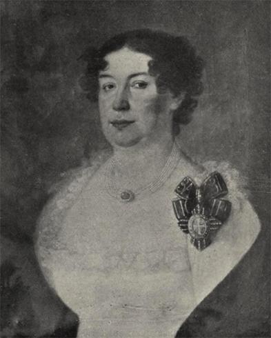 Жена Елена Августа Элеонора фон Смиттен