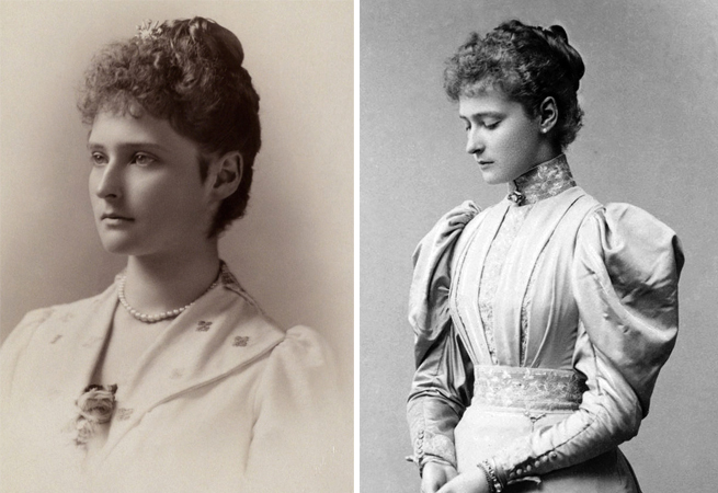 Александра Федоровна в молодости
