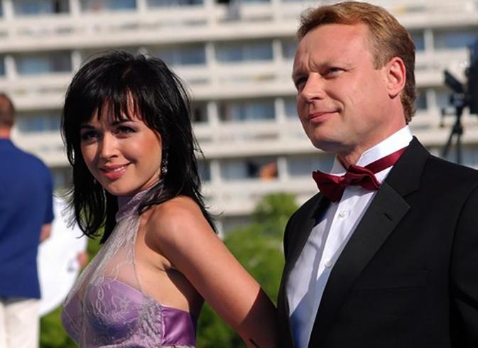 С Анастасией Заворотнюк