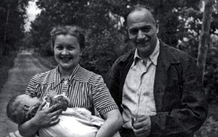 С Каро Алабяном и сыном Александром