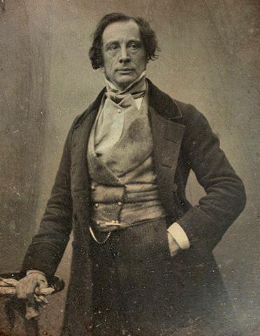 Чарльз Диккенс в 1852 г.
