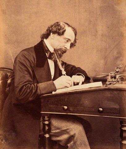 Чарльз Диккенс в 1858 г.
