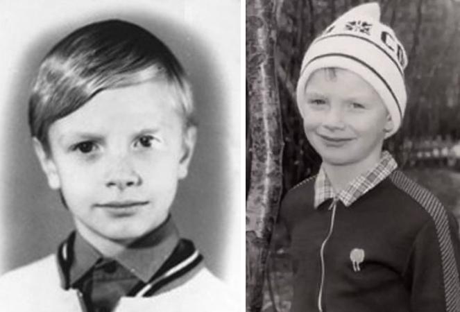 Алексей Гоман в юности