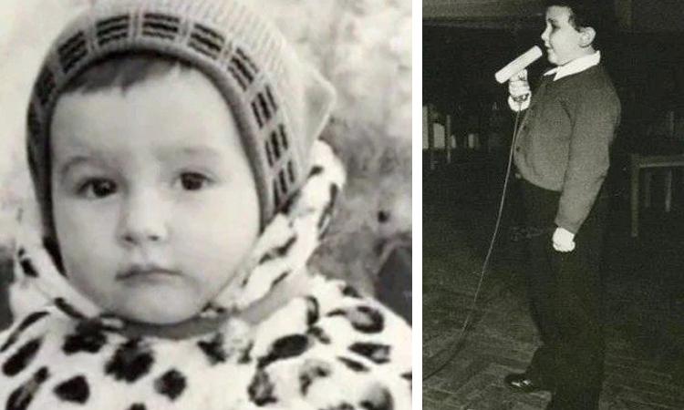 Сергей Трофимов в детстве