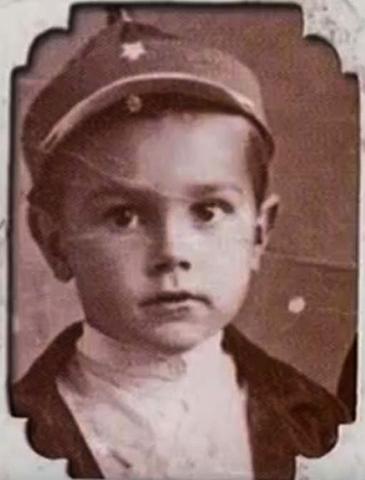 Павел Луспекаев в детстве