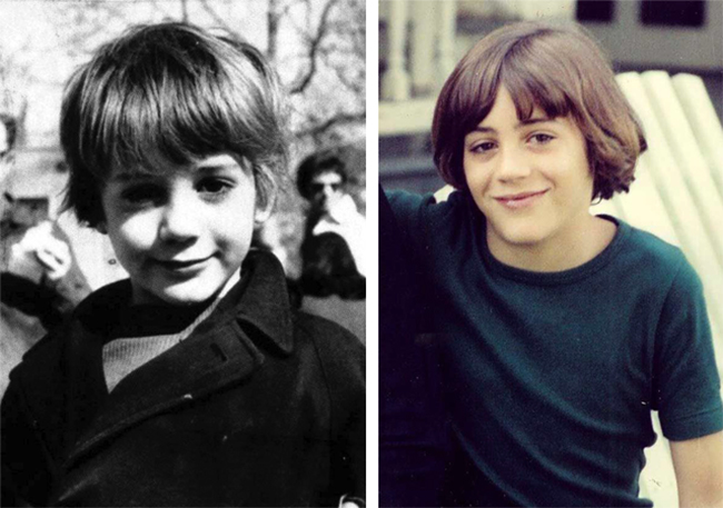 Роберт Дауни-младший в детстве
