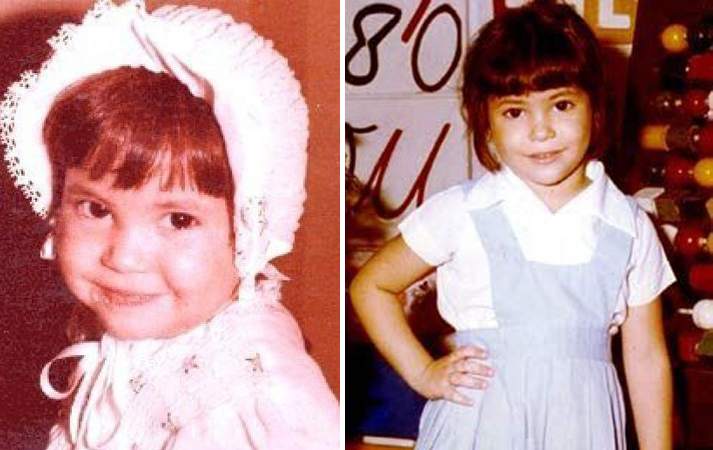 Шакира в детстве
