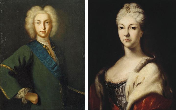 Дети — Петр Алексеевич и Наталья