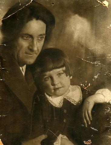 С дочерью Женей