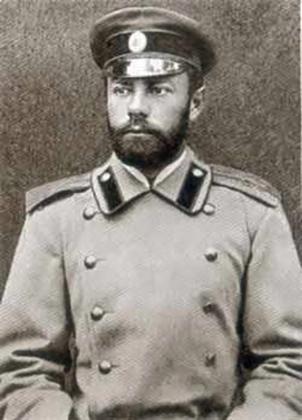 Антон Деникин в 1895 г.
