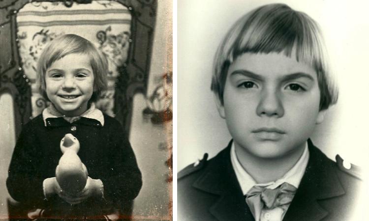 Тимофей Баженов в детстве