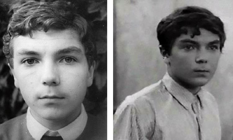 Юрий Николаев в детстве и юности