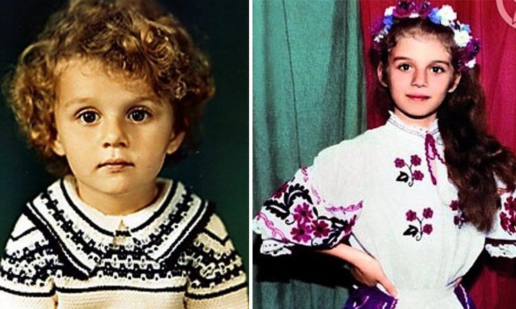 Анны Седокова в детстве