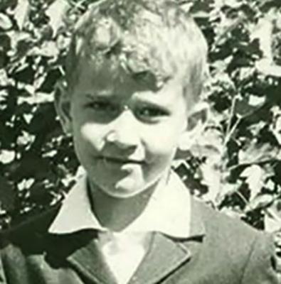 Андрей Продеус в детстве