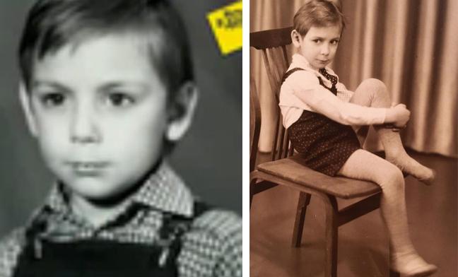 Артем Ткаченко в детстве