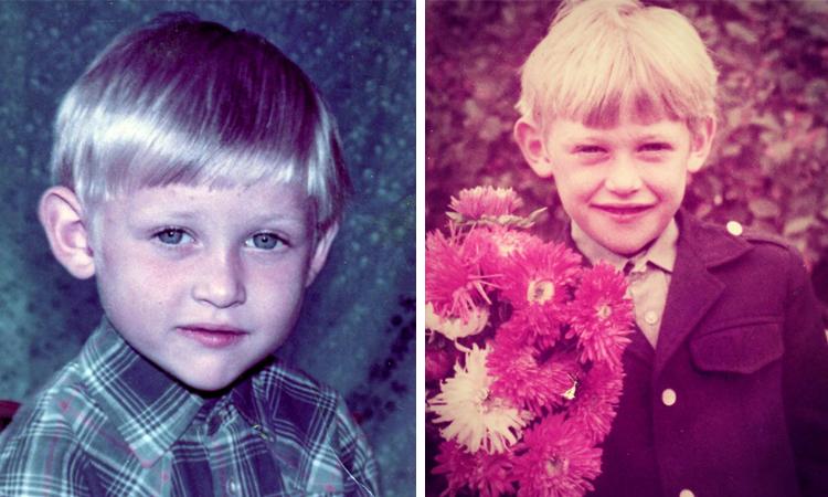 Андрей Фролов в детстве
