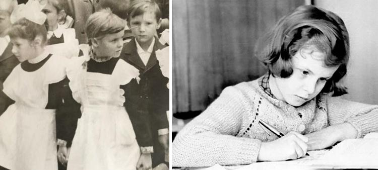 Валентина Пиманова в детстве