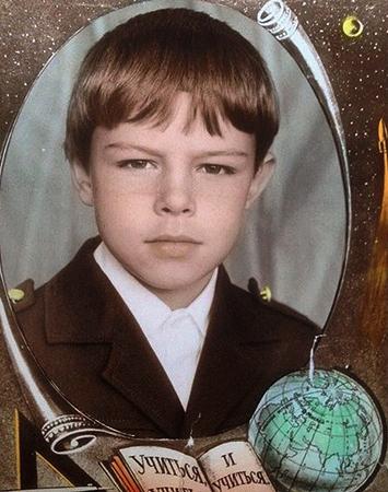 Евгений Пронин в детстве