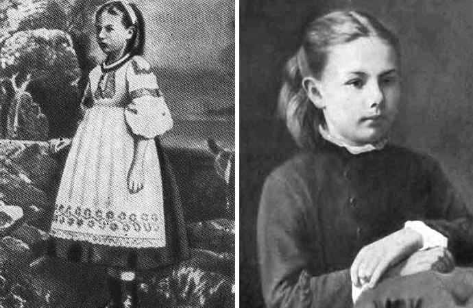 Надежда Крупская в детстве