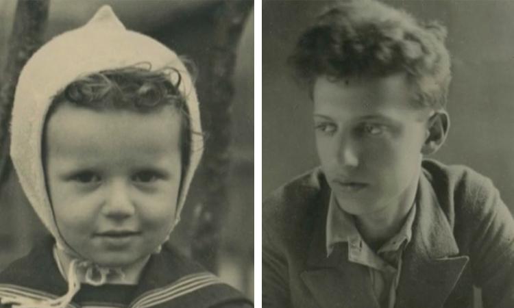 Михаил Борисов в детстве