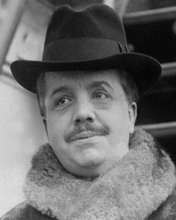 Сергей Дягилев в 1916 г.