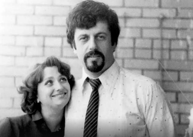 С второй женой Еленой