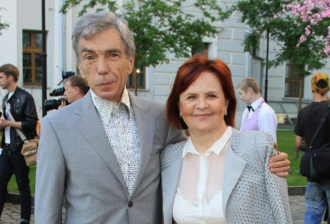 С женой Элеонорой
