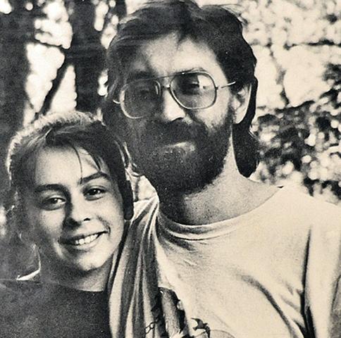 С первой женой Эльмирой