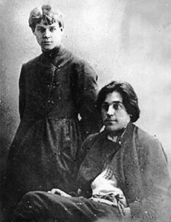 Сергей Клычков и Сергей Есенин