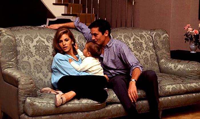 С женой Натали и сыном Энтони