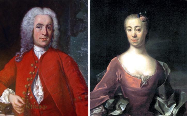 Карл Линней и Сара Морея