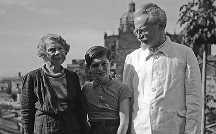 С женой Натальей и внуком Всеволодом