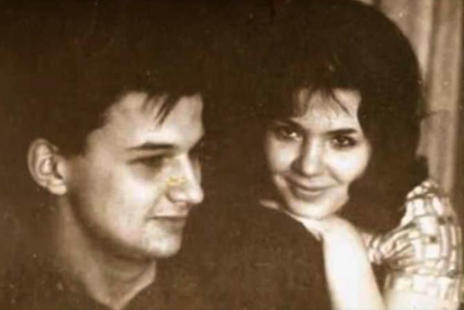 С первой женой Татьяной Абрамовной
