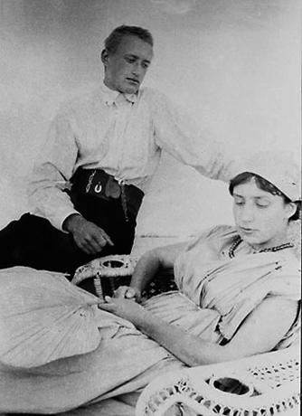 Анастасия Цветаева и Борис Трухачев (1911)