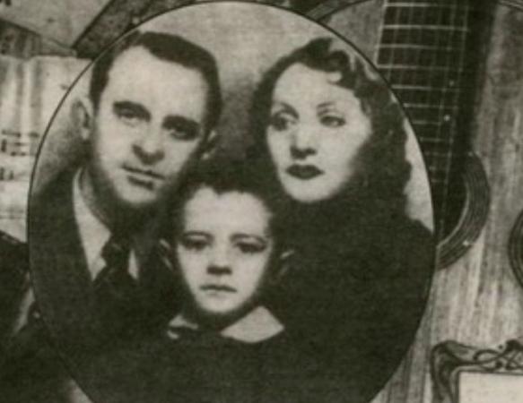 С первой женой Жени Закит и сыном Игорем